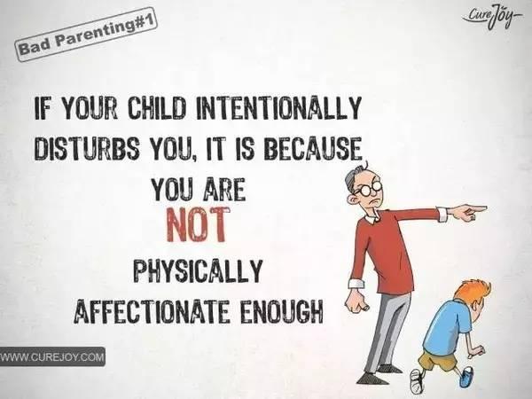 来自facebook的漫画,精准戳向家庭教育的痛点