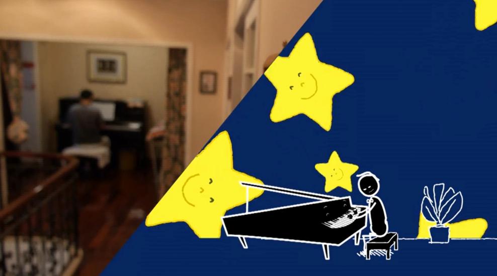 自闭症孩子关于钢琴家的梦想